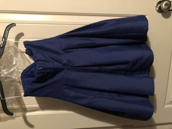 teeze me Blue Size 2 Bridesmaid Sorority Formal Cocktail Dress on Queenly