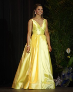Sherri Hill Yellow Size 0 Plunge Ball gown on Queenly