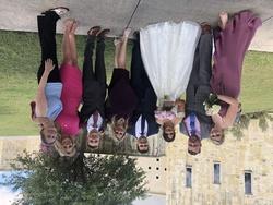 David's Bridal Purple Size 6 Side slit Dress on Queenly