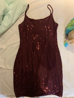 Queenly size 6 Windsor Red A-line evening gown/formal dress