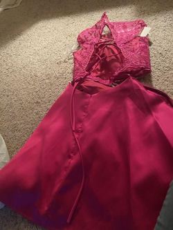 Mori Lee Pink Size 8 Sweetheart Cocktail Dress on Queenly