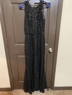 Black Size 6 Straight Dress on Queenly