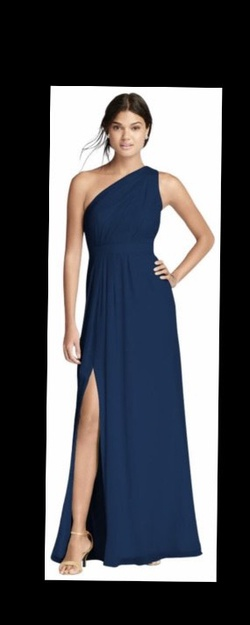 Blue Size 10 Side slit Dress on Queenly