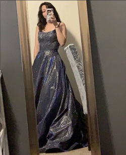 Sherri Hill Silver Size 6 Prom Backless A-line Dress on Queenly