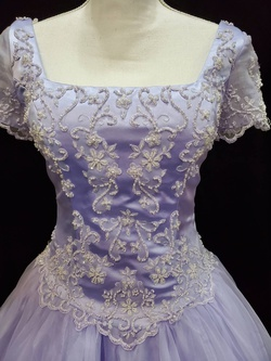 Private Collection Purple Size 8 Ball gown on Queenly