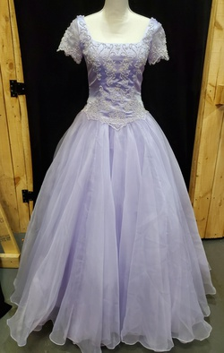 Queenly size 8 Private Collection Purple Ball gown evening gown/formal dress