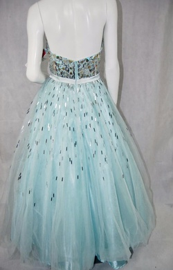 Tony Bowls Light Blue Size 10 Ball gown on Queenly