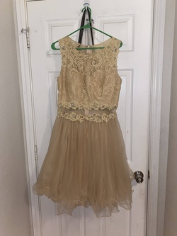Nude Size 12 Cocktail Dress on Queenly