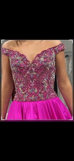 Sherri Hill Pink Size 6 Jewelled Pageant Custom Ball gown on Queenly