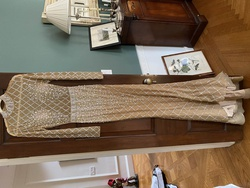 Nude Size 2 Train Dress on Queenly