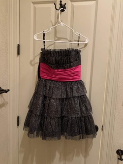 Queenly size 6 Betsey Johnson Black Cocktail evening gown/formal dress