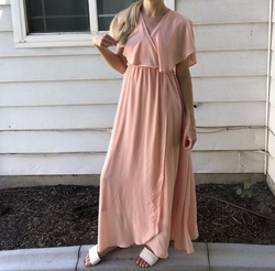 Queenly size 4  Pink Train evening gown/formal dress