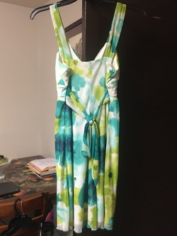 Multicolor Size 8 A-line Dress on Queenly