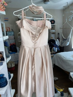 dreamdressy Pink Size 4 Homecoming Ball gown on Queenly