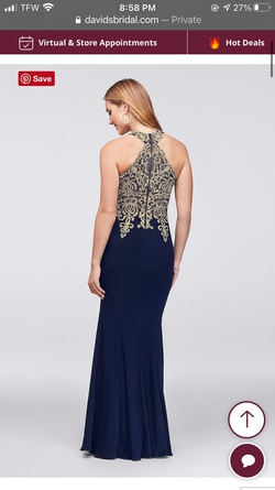 Xscape Blue Size 0 Pageant A-line Dress on Queenly