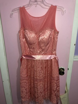 Queenly size 2 Cindy Pink Cocktail evening gown/formal dress