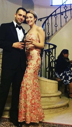Speechless Nude Size 6 Ball gown on Queenly