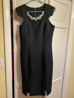Queenly size 12 Mac Duggal Black Straight evening gown/formal dress
