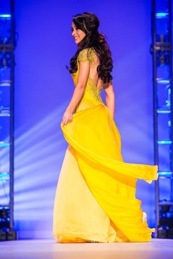 Yellow Size 0 A-line Dress on Queenly