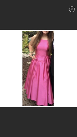 Queenly size 10 Camille La Vie Pink Ball gown evening gown/formal dress