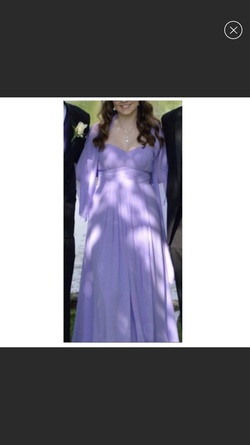 Queenly size 8 Camille La Vie Purple Ball gown evening gown/formal dress
