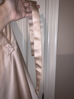 Queenly size 2 Angela and Alison Nude Ball gown evening gown/formal dress