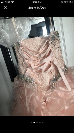Pink Size 4 Ball gown on Queenly