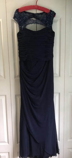 Madeline Gardner New York Blue Size 12 Ball gown on Queenly