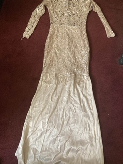 Nude Size 6 Mermaid Dress on Queenly