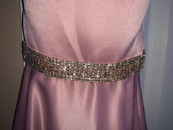 Dave & Johnny Pink Size 0 Backless Ball gown on Queenly