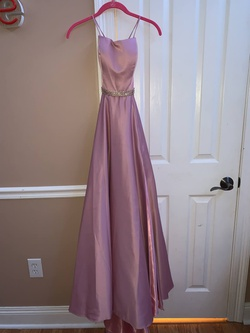 Queenly size 0 Dave & Johnny Pink Ball gown evening gown/formal dress