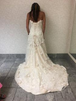 Mori Lee White Size 8 Wedding Corset Mermaid Dress on Queenly