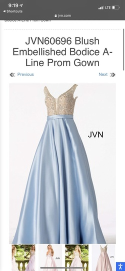 Queenly size 24  Blue Ball gown evening gown/formal dress