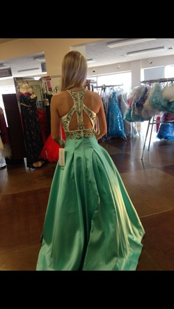 Rachel allen Multicolor Size 00 Prom Ball gown on Queenly