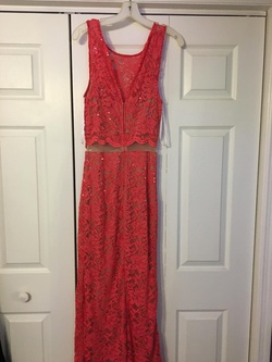 Pink Size 10 Side slit Dress on Queenly