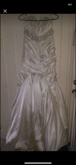 Sottero and Midgley Couture White Size 16 Wedding Train Dress on Queenly