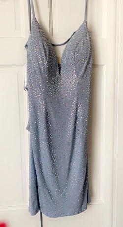 Gipper prom Blue Size 0 Homecoming Cocktail Dress on Queenly