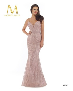 Style 16307 Morrell Maxie Pink Size 8 Backless Pageant Mermaid Dress on Queenly