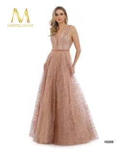 Queenly size 18 Morrell Maxie Pink Ball gown evening gown/formal dress
