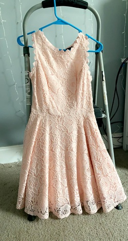 city studio Pink Size 0 Straight Dress on Queenly