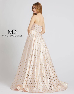 Style 67093L Mac Duggal Light Pink Size 12 Strapless Plus Size Ball gown on Queenly