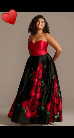 Queenly size 20  Multicolor Ball gown evening gown/formal dress