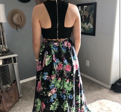 Blondie Nites Multicolor Size 8 Two Piece Ball gown on Queenly
