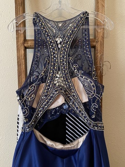 Blue Size 14 A-line Dress on Queenly