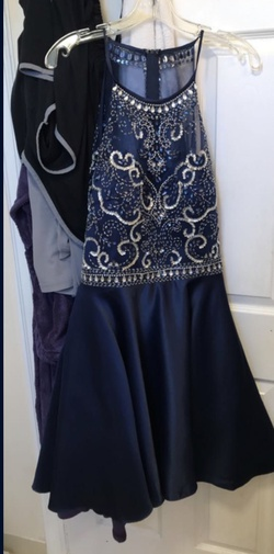 ED YOUNG Blue Size 16 A-line Dress on Queenly