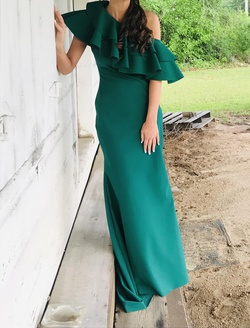 Johnathan Kayne Green Size 4 Tall Height Straight Dress on Queenly