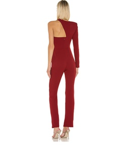 Michael Costello Red Size 2 Tall Height Romper/Jumpsuit Dress on Queenly