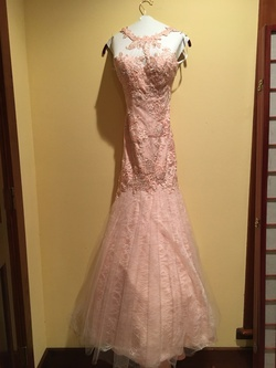 Mac Duggal Pink Size 00 Train Mini Mermaid Dress on Queenly