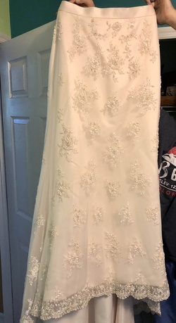 Nude Size 14 Mermaid Dress on Queenly
