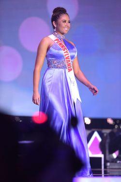 Sherri Hill Purple Size 4 Pageant Silk Train Dress on Queenly